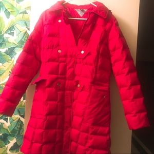 Tommy Hilfiger down coat, size M